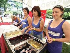 Svátek borůvek si nenechaly ujít stovky lidí.