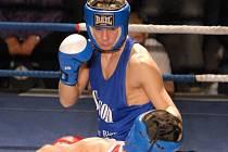 Josef Zahradník odboxoval proti Gažimu velmi dobré utkání a po zásluze zvítězil.