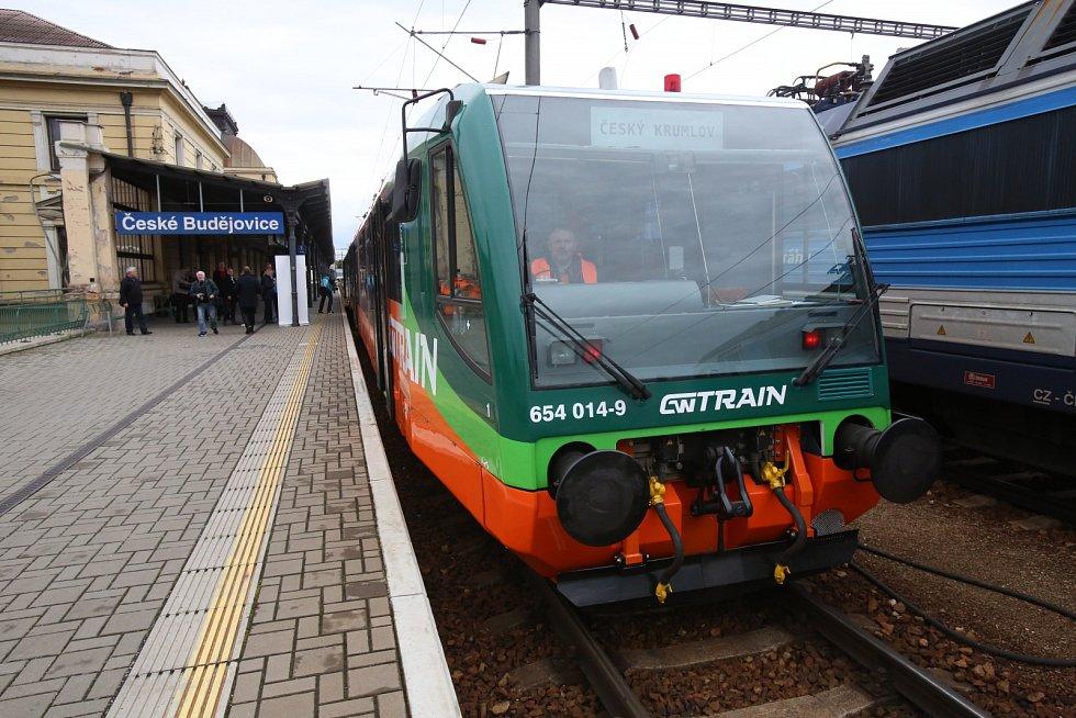 Nový oranžový vlak GW Train Regio