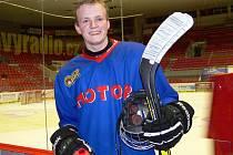 Hokejový talent Jáchym Kondelík.