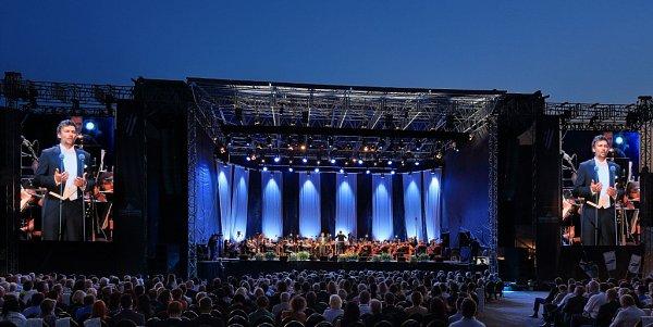 Tenorista Jonas Kaufmann zahájil 18.července Mezinárodní hudební festival vČeském Krumlově.
