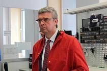 Firmu TSE navštívil v pátek i ministr průmyslu. Foto: Deník/Jitka Davidová