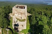 Vítkův hrádek ve Svatém Kameni.