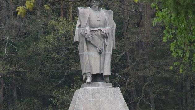 Památník Jana Žižky z Trocnova.