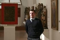Po sto dnech ve funkci Aleš Seifet, nový ředitel Alšovy jihočeské galerie. Už se mu povedlo zvýšit návštěvnost na Hluboké i v Budějovicích.
