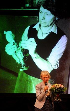 VTřeboni začal 5.května Anifilm, mezinárodní festival animovaných filmů. Na snímku Vlasta Pospíšilová, animátorka a režisérka, která na Anifilmu převzala cenu za celoživotní dílo.