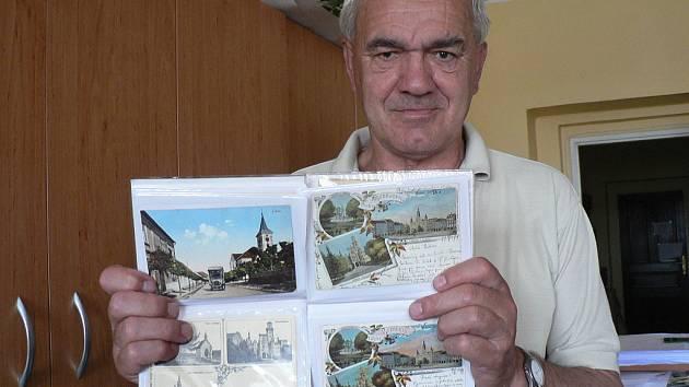Dřívější podobu měst a obcí na Budějovicku ukazují historické pohlednice. Sbírá je například Ladislav Helcl.
