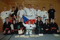 Vítězný tým SKP ČB v Bavorsku.