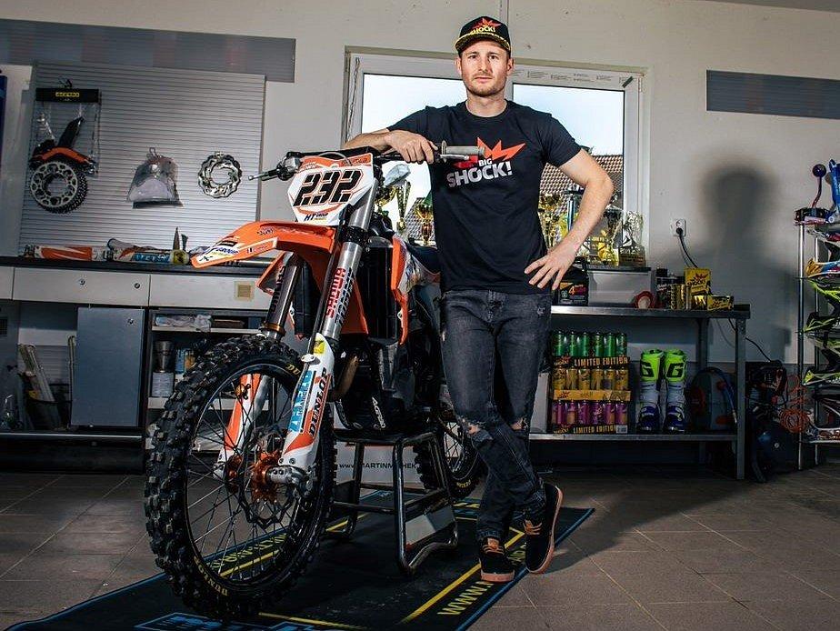 Martin Michek se stal ambasadorem značky Big Shock.