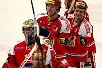 Utkání hokejové Tipsport Extraligy mezi HC České Budějovice a HC Vítkovice Steel.