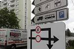 Rekonstrukce ulice Mánesova a její značení