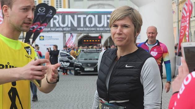 Kateřina Neumannová si účast na RunTour nemohla nechat uniknout