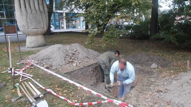 Archeologové odkryli tento týden zbytky českobudějovické synagogy.