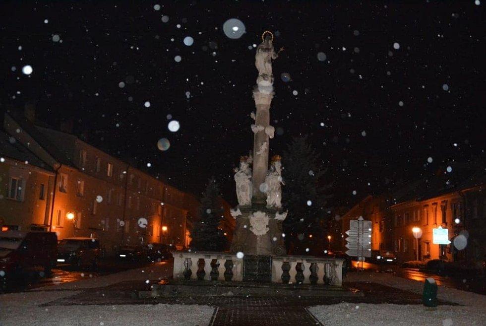 Horní Stropnice na Českobudějovicku - 12. 11.