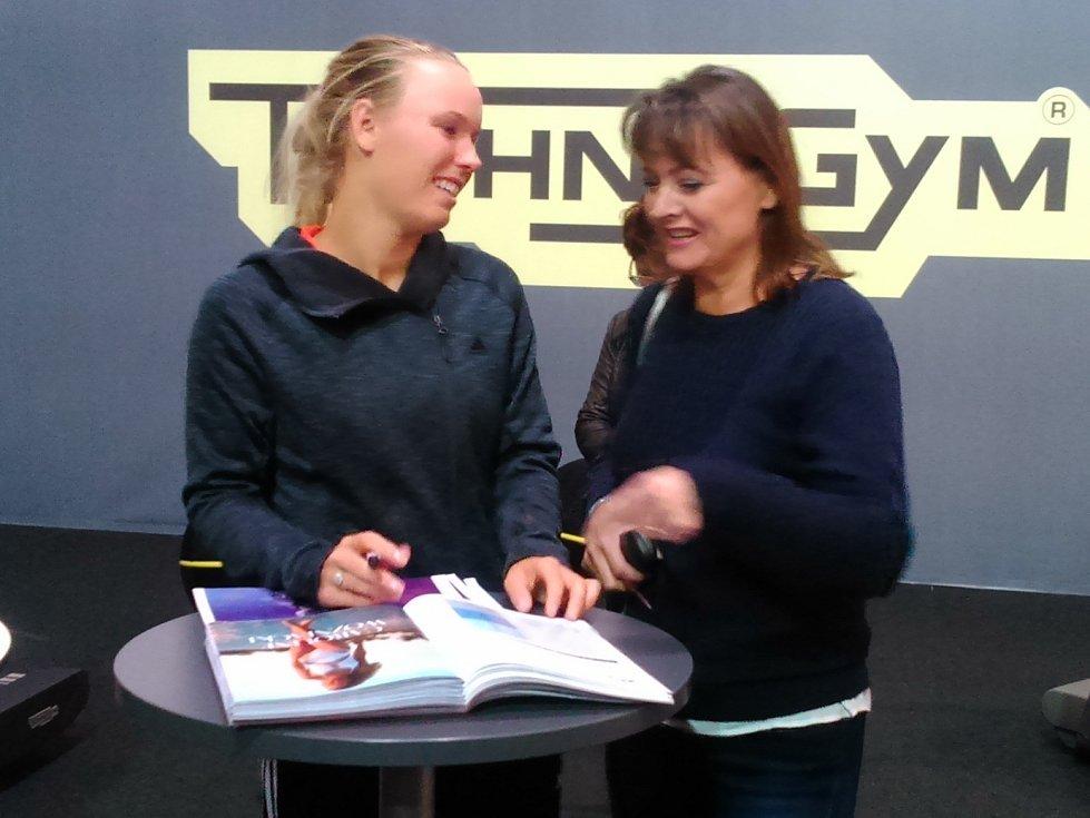 V Linci se hraje světový ženský tenis, Caroline Wozniacká