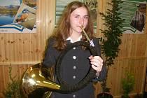 Kristýna Vacková má hraní v rodině.