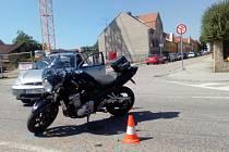 Dopravní nehoda se stala ve středu dopoledne na Husově třídě poblíž Fakulty rybářství a ochrany vod v Č. Budějovicích.