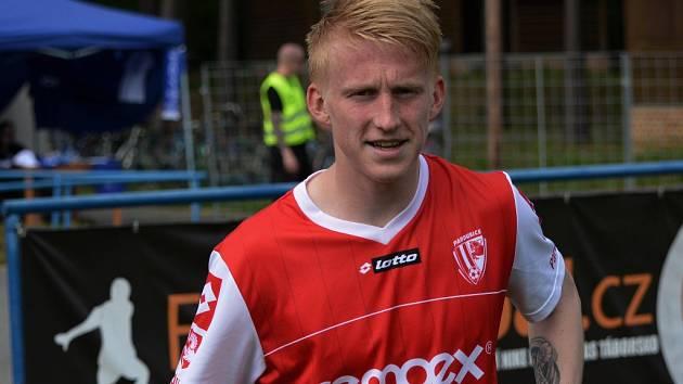 Exbudějovický Michal Petráň patřil v zápase Táborsko - Pardubice k oporám hostí.