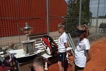 Tenis na jihu Čech. Mezinárodní utkání