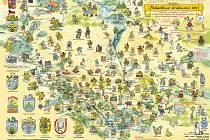 Vydali pohádkovou mapu