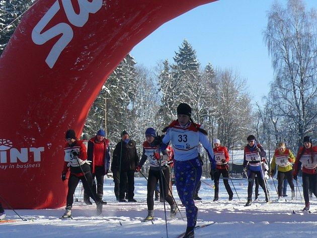 """ZÁŠTITA. Organizátoři lyžařského závodu Šumavská """"30"""", která se letos poběží už potřetí, obdrželi potvrzení od prezidenta republiky Miloše Zemana o záštitě."""