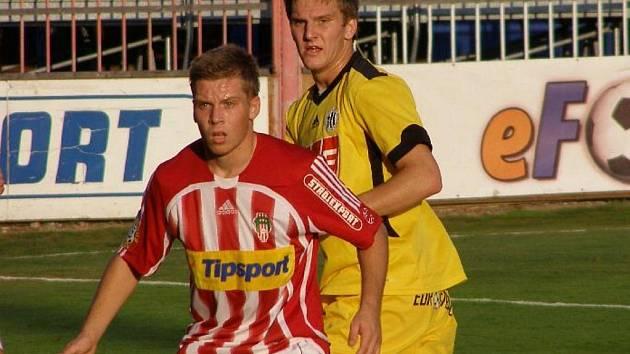 Zdeněk Ondrášek na Žižkově si zahrál ve druhé půli, kdy střídal Meszároše.
