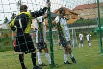 Okresní přebor měl na programu 12. kolo. I po něm zůstávají v čele tabulky fotbalisté Sedlece (ilustrační snímek).