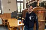 Jan Papula, 38 let, sládek, znalec piva, Tábor, člen Trikolora Svobodní Soukromníci.