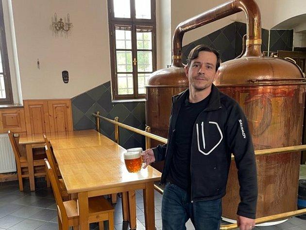 Jan Papula, 38let, sládek, znalec piva, Tábor, člen Trikolora Svobodní Soukromníci.