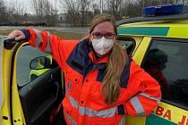 Alžběta Dlabačová (zdravotnický záchranář, řidička vozidla rendez-vous).