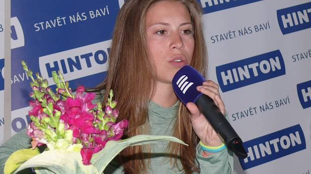 Olympijská vítězka Eva Samková v ČRG