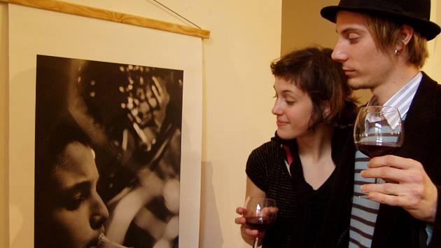 Studenti francouzského jazika zaujaly snímky Huberta Thouvenina