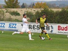 Oblastní I.B třída (skupina A) 9. kolo:TJ Malše Roudné B(bílé dresy)-FK Spartak Kaplice 1:7 (0:4)