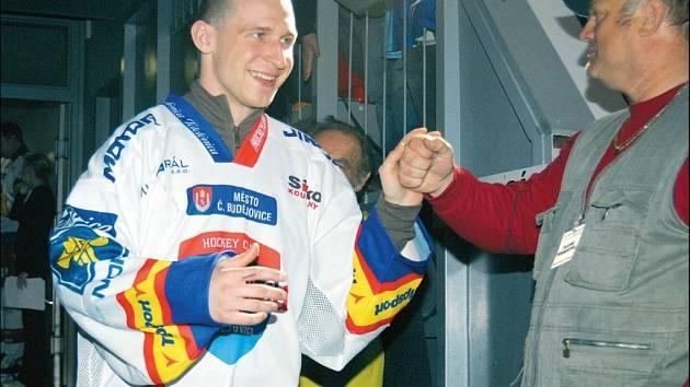Hokejista HC Mountfield Štěpán Hřebejk nominaci do reprezentace nečekal.