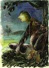 V knize Ostnaté vzpomínky vzpomíná malíř Karel Valter (1909 - 2006) na nejhorší část svého života, nacistickou okupaci a své věznění v Táboře, Terezíně a Buchenwaldu. Na snímku kresba Osvobozená vězeňkyně.