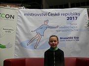 České Budějovice jsou dějištěm žákovského MČR v krasobruslení