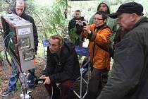 Natáčení pohádky Malý pán v lese za Temešvárem na Písecku.