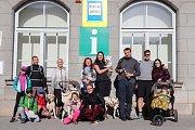 Podzimní výlet z Trhových Svinů na Buškův Hamr.