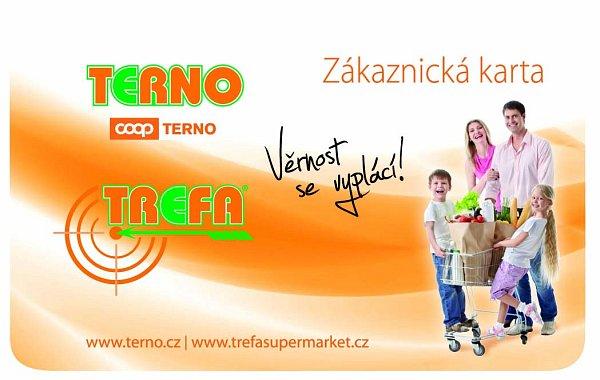 Zákaznickou kartu můžete používat vTernu ivprodejnách Trefa.