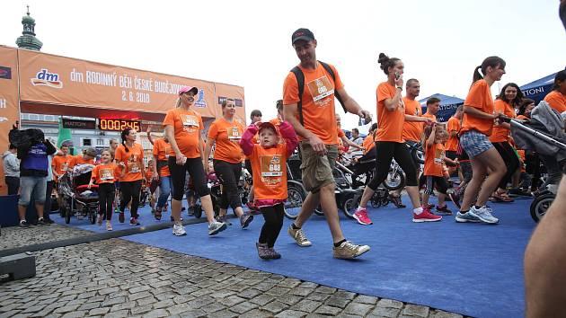 Sobotní svátek běhu zahájil dětský běh.