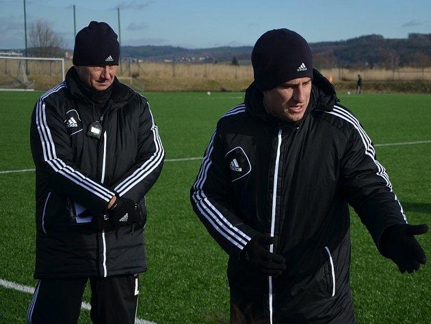 S výsledkem v Ústí byli trenéři Luboš Urban i Martin Vozábal samozřejmě spokojeni.