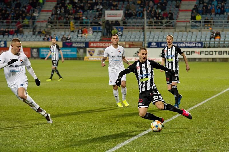 Fortuna liga, fotbal, Dynamo České Budějovice - FC Baník Ostrava