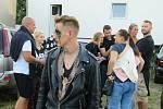 Vystoupení umělců v Ohana horor cirkusu v pátek 16. července na českobudějovickém sídlišti Máj.