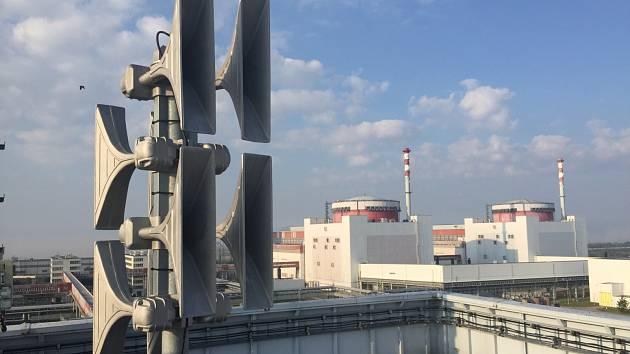 K zítřejší celostátní zkoušce sirén se připojí i elektrárna Temelín. Během 15 minut zde sirény spustí hned čtyřikrát.