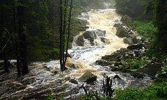 Novohradské hory nabízejí nádherná zákoutí s vodními toky.