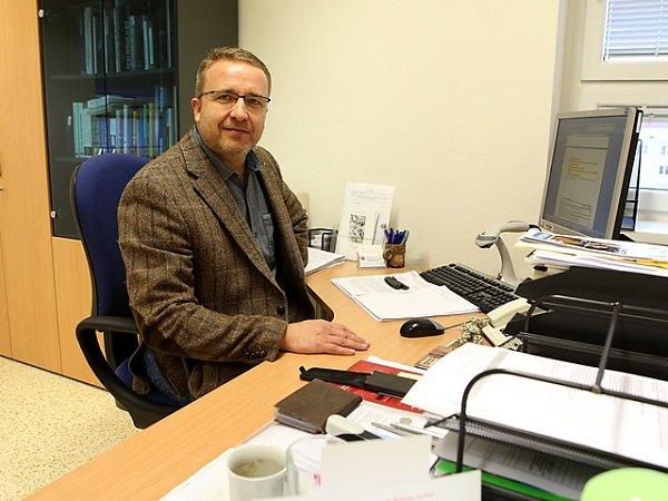 Patrik Červák, šéf krajského odboru kultury.