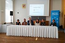 Několik institucí uspořádalo v polovině října na Jihočeské univerzitě v Českých Budějovicích propagační akci ve prospěch výuky a využití francouzštiny.
