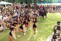 Afričtí tanečníci ze souboru IYASA zakončí o víkendu své turné po Česku na festivalu Jihočeské zpívání. Ten nabídne například Palečka s Janíkem, jindřichohradecké Jen tak tak, pohádku pro děti, výstavy, keramiku i projížďky na koních.