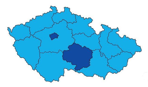 Sečtena je třetina hlasů. Momentálně je vrámci republiky ina jihu Čech na prvním místě ANO.