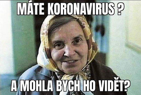 Vtipy, kterými se baví národ na téma doby koronavirové a rouškové